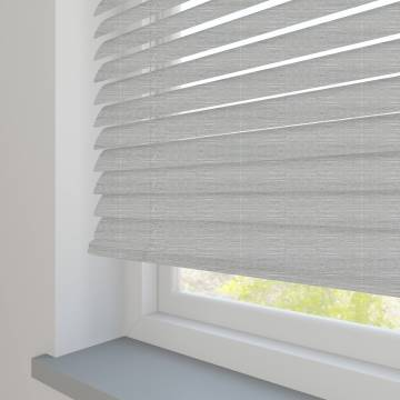 Venetian Blinds Wood Grain Effect 25mm Woodline Grey