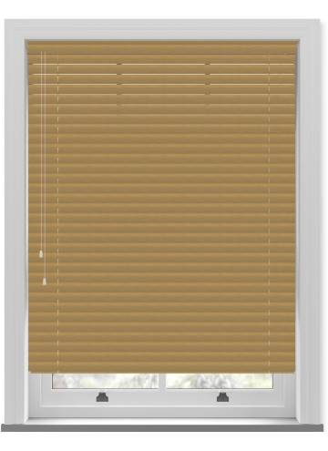 Venetian Blinds Wood Grain Effect 50mm Natural TR9941