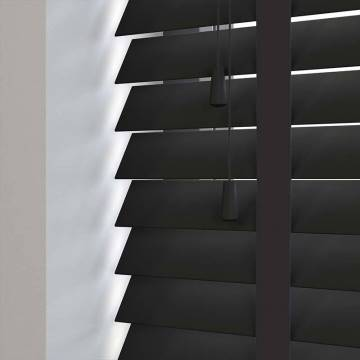 Wooden Blinds Zambezi Taped Carbon