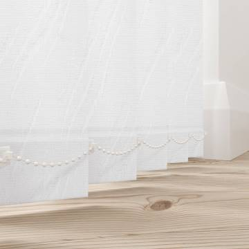 Vertical Blinds Zara White