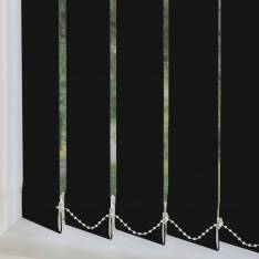 Replacement Vertical Blind Slats Genesis Blackout Luxe Graphite