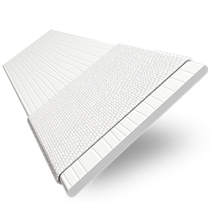 Premier Taped Grained Bright White
