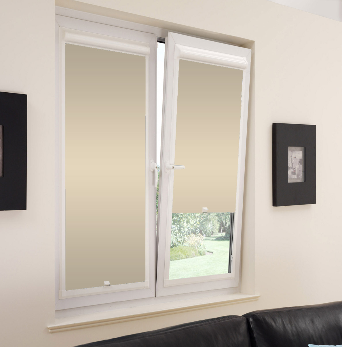 perfect fit blinds custom fitted roller venetian window. Black Bedroom Furniture Sets. Home Design Ideas