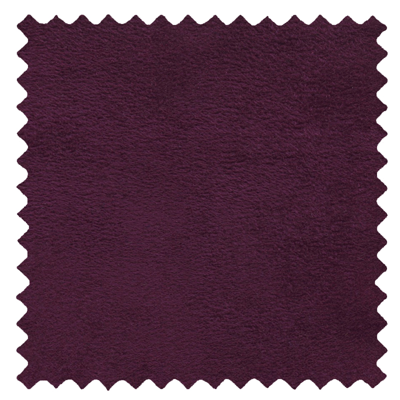 Faux Suede Aubergine swatch