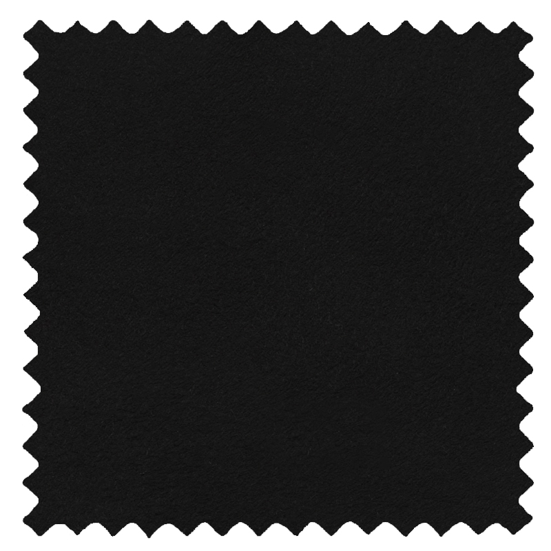 Faux Suede Deluxe Black swatch