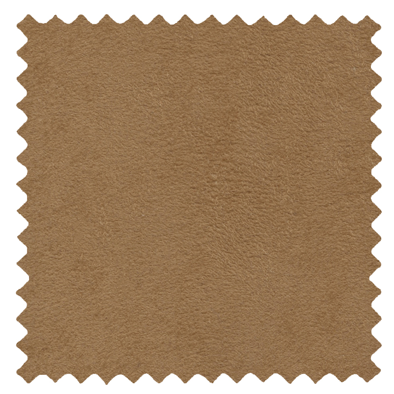 Faux Suede Camel swatch