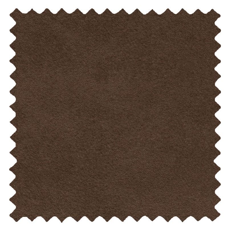 Faux Suede Chocolate swatch
