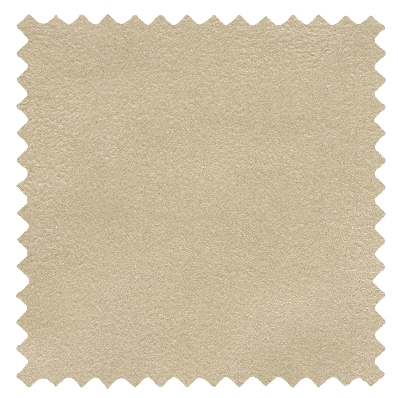 Faux Suede Cream swatch