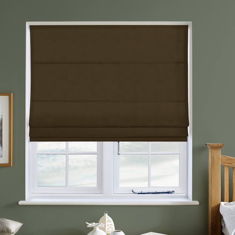 curtains roman lace faux bedroom dark fine sheer with wood blinds in golden blind for
