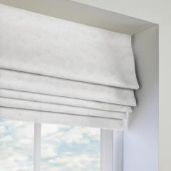 Roman Blinds Faux Suede Mercury