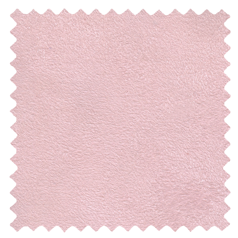 Faux Suede Pastel Pink swatch