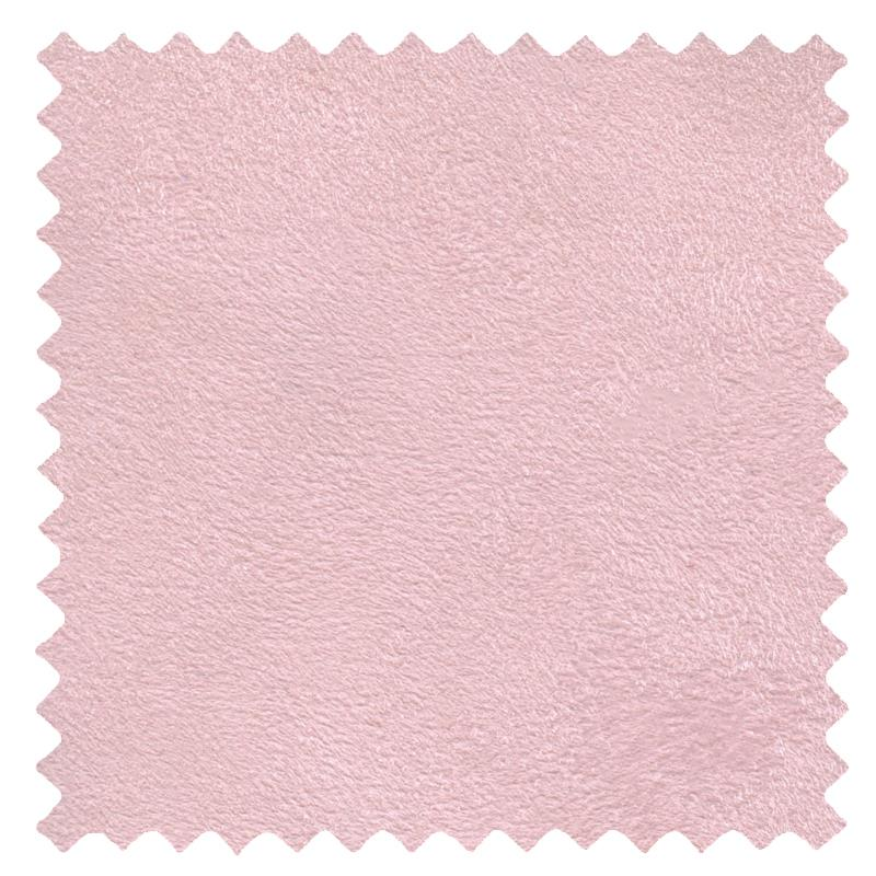 Faux Suede Pastel Pink