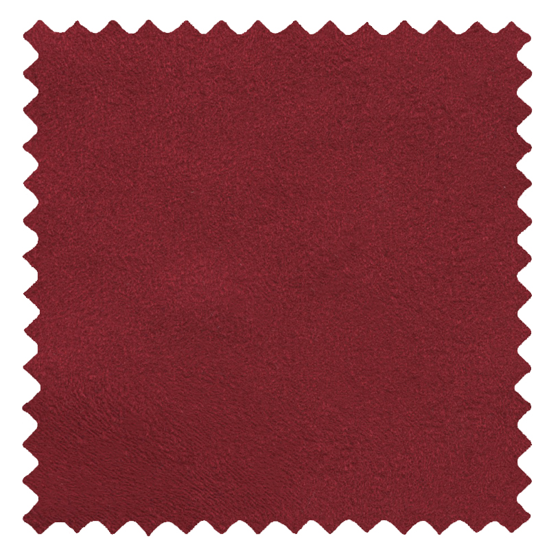 Ambassador Faux Suede Red swatch