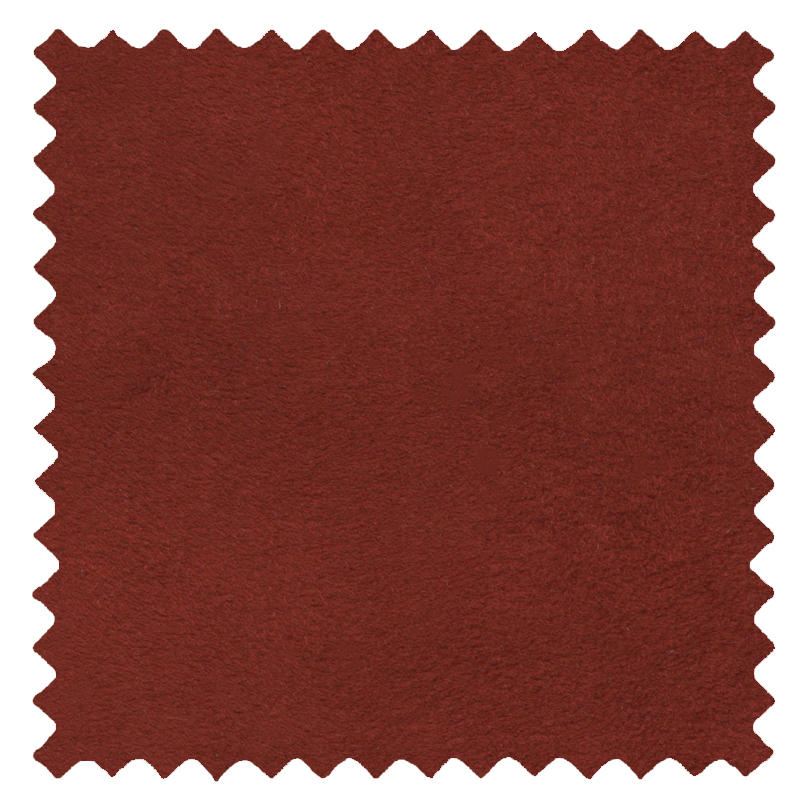 Faux Suede Terracotta swatch