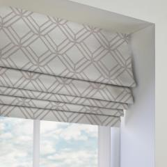 Roman Blinds Atrium Chrome