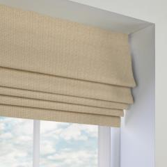 Roman Blinds Basket Weave Ivory