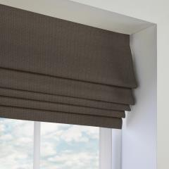 Roman Blinds Basket Weave New Grey