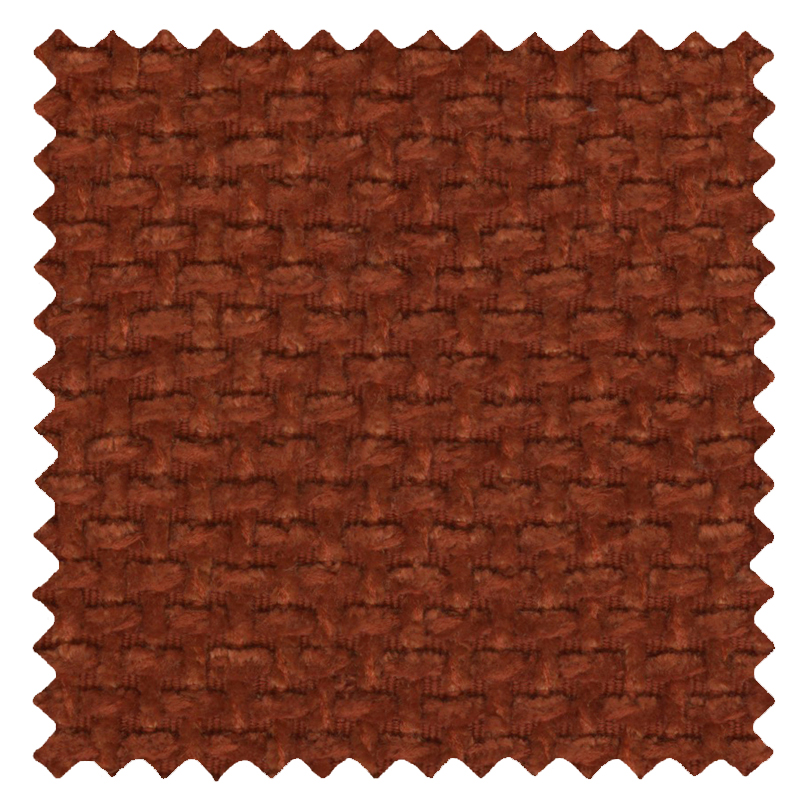 Basket Weave Terracotta swatch