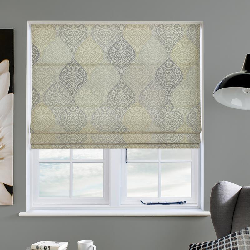 Bosworth Chartreuse Roman Blind Direct Blinds
