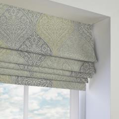Roman Blinds Bosworth Chartreuse