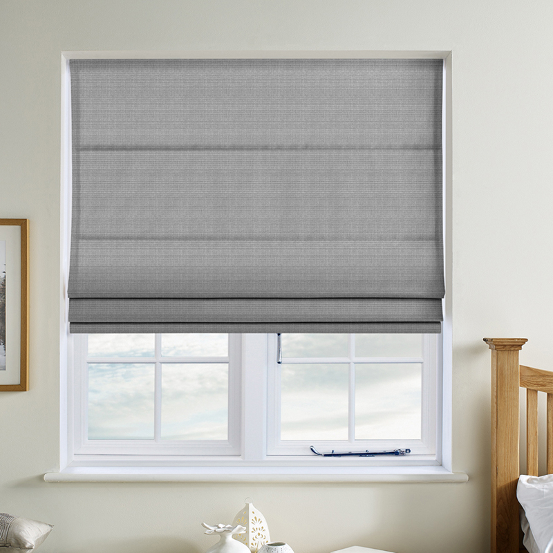 Hopsack Mercury Roman Blind Direct Blinds