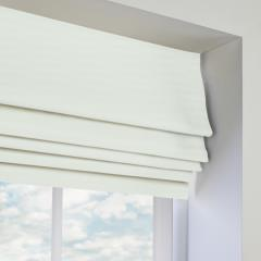 Roman Blinds Panama White