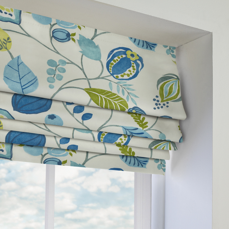 Zest Bluebell Roman Blind Direct Blinds