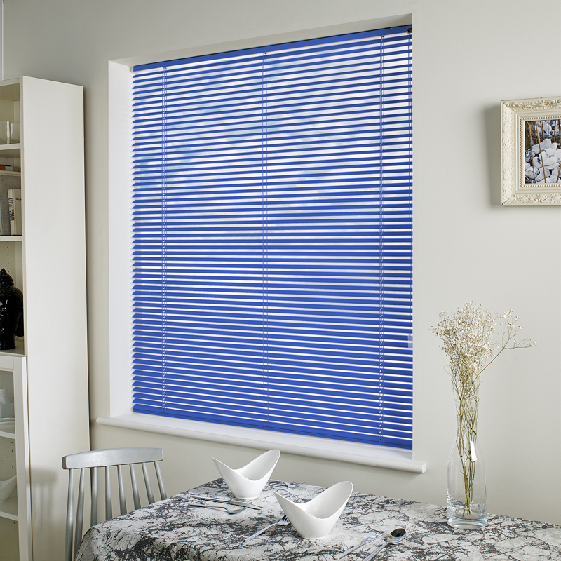 aluminum treatments b hampton n home depot available window mini bay in blinds colors the compressed blind blue