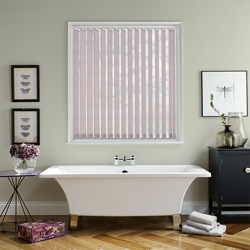 Luxe Orchid 89mm Vertical Blind Slats