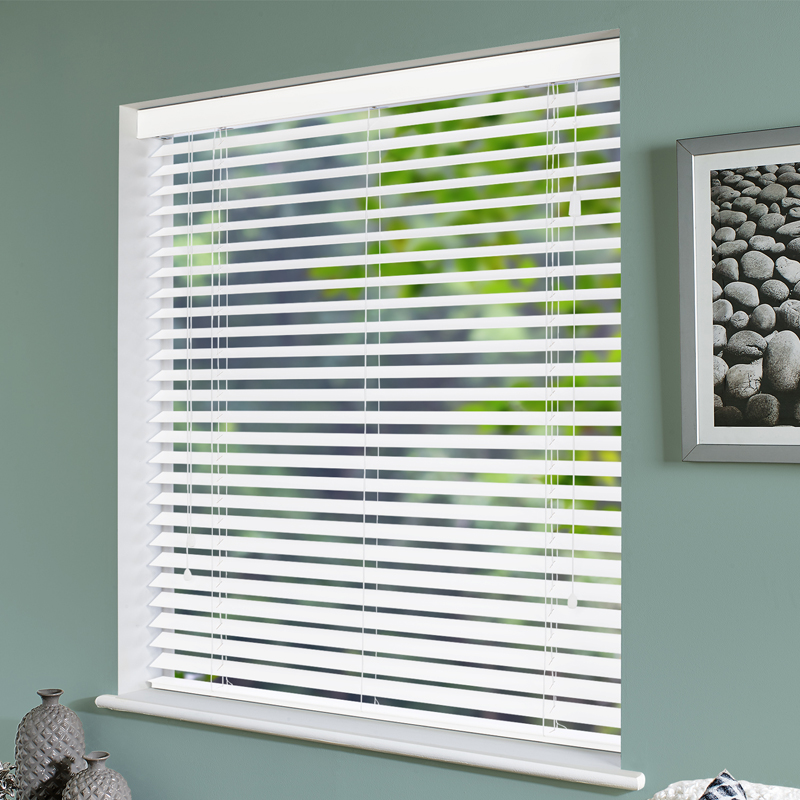 to wood doubleblindscoverad custom cut fake blinds for fit a how faux