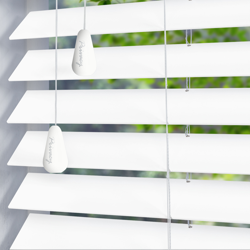 White Wood Blinds
